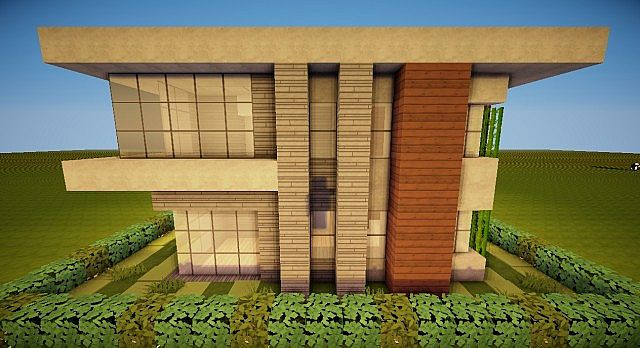Modern House 20x20 Minecraft Project