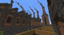 Paulchester city industrial disctrict Minecraft Map & Project
