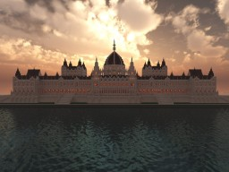 Hungarian Parliament Building Minecraft Map & Project