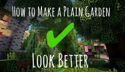 How to make a plain yard look better - Sequence [PopReel] Minecraft Blog Post