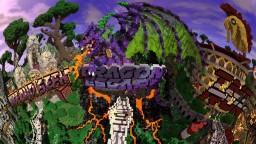 Dinocula Mega Hub Minecraft