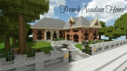 French Acadian Home|TMA|Cubed Minecraft
