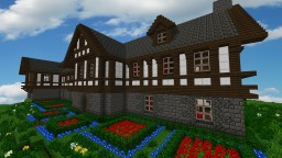 Medieval Tudor Mansion Minecraft Map & Project