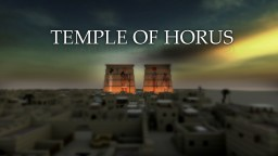 Temple of Horus, Edfu, Egypt Minecraft Map & Project
