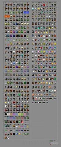 Minecraft Id List Mc 18 Minecraft Blog