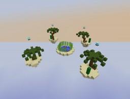 Skywars Map Schematic: Desert 4 Players Minecraft Map & Project