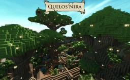Quelos'nira the elven village Minecraft