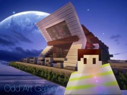 Odd Art Gallery Minecraft Map & Project