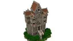 Sky High Manor Minecraft
