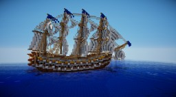 The Collywobbles - Napoleonic ship Minecraft