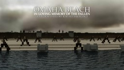 OMAHA BEACH, NORMANDY, FRANCE Minecraft Map & Project