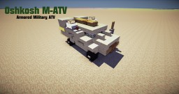 Oshkosh M-ATV I Armored All-Terrain Vehicle Minecraft