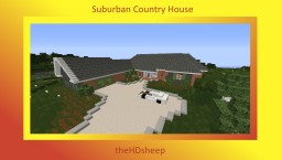 House Plan #1 [Suburban] [HS] Minecraft Map & Project