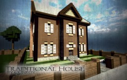 Traditional House | Cubed Minecraft Map & Project
