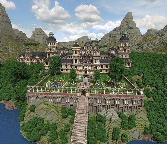 Rozenock Palace Minecraft Project
