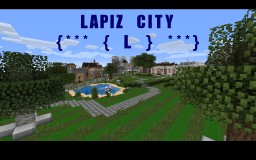 Lapiz City [ New City Area  ] Minecraft Map & Project