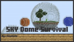 Flying Dome Survival Minecraft Project