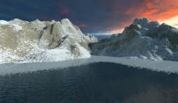 ★ Snowy Range ★ - Over 300 Million Blocks ♥ Minecraft Map & Project