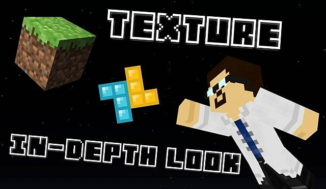 This is one of the working thumbnail-and-or-intro images for the reboot of my series on Texture-Packs.