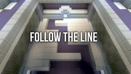 Follow the line (playable) Minecraft Map & Project