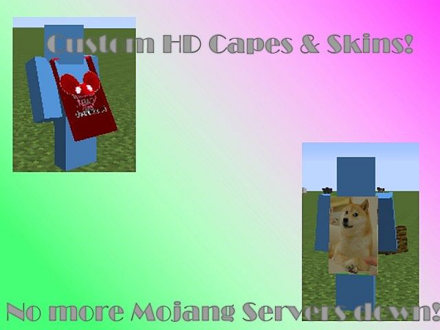 minecraft cape mod 1.7 10