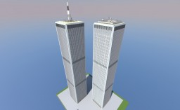 World Trade Center - Twin Towers - UNITED WE STAND 9-11-01 [V2] Minecraft Map & Project