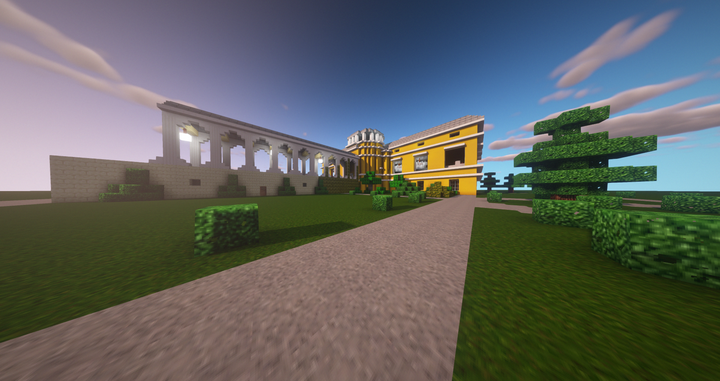 Mansion outside 1