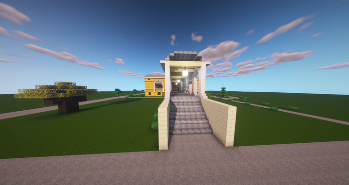 Mansion outside 2