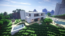 Modern House Project #1 Minecraft Map & Project
