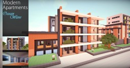 Modern Apartments - Ocean Wave Minecraft Map & Project