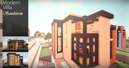 Modern Villa - Sandstorm Minecraft Map & Project