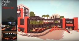 Nefa's Modern Cafe Minecraft Map & Project