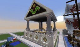 Snake-eye Temple Minecraft Map & Project