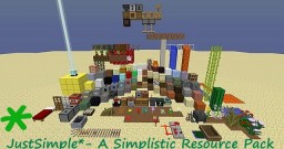 JustSimple*-A Simplistic Resource Pack (750+ Downloads?)