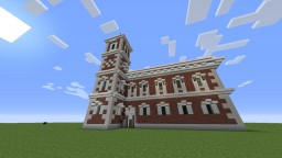 A Small Baroque / Renaissance style church Minecraft