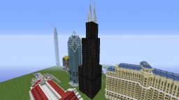 Sears/Willis Tower, Chicago Minecraft Map & Project