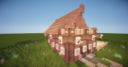 Cosy First Survival House -Drake Minecraft