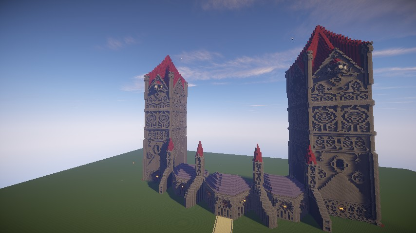 Pokemon X And Y League Building Wip Minecraft Project