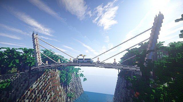 Minecraft Timelapse Crystal Island Summer Resort