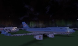 [Airplane] Boeing 747-400 (744) Minecraft Map & Project