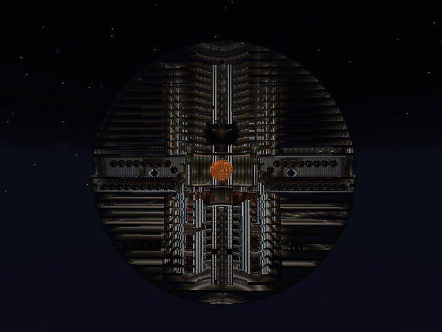 Empire Strikes Block The Death Star Minecraft Project