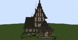 Eencredible English Tudor House Minecraft Project