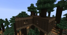 Forest Tree House #2 Minecraft Project