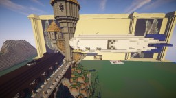 Automated Passenger Ferry Airship system using Movecraft for servers Minecraft