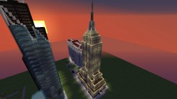 Empire State Building, New York Minecraft Map & Project