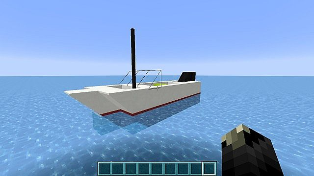Small Fishing Boat! (Downloadable version) Minecraft Project