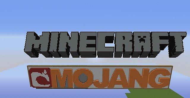Minecraft Mojang Sign Minecraft Map