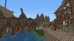 Naporia - Medieval Town  (WIP) Minecraft Map & Project