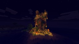 lonely stranded Minecraft Map & Project