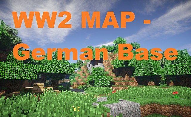 WW2 - World War II - German Base Map Minecraft Project
